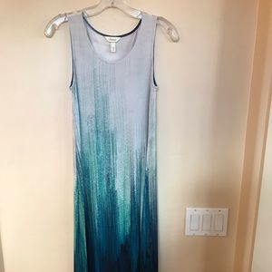 Blue/Teal Maxi Dress Sz. S